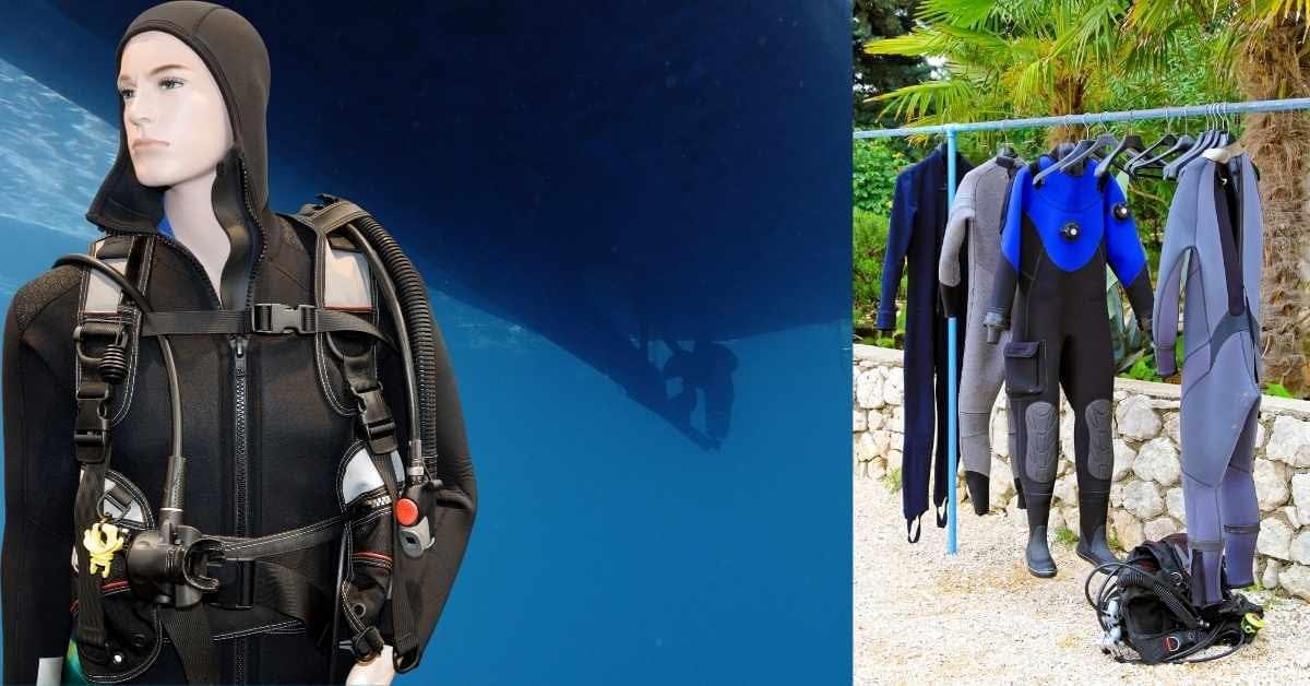 Lycra diving tops