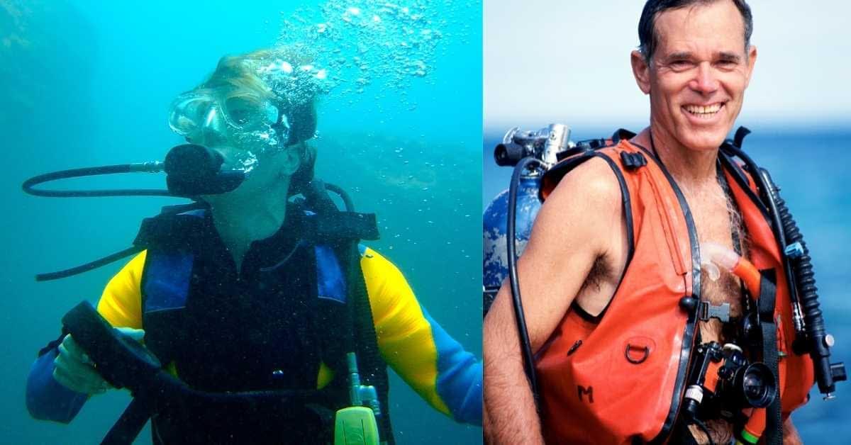 Scuba vest snorkel