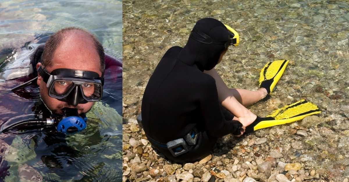 Hoods for scuba dive