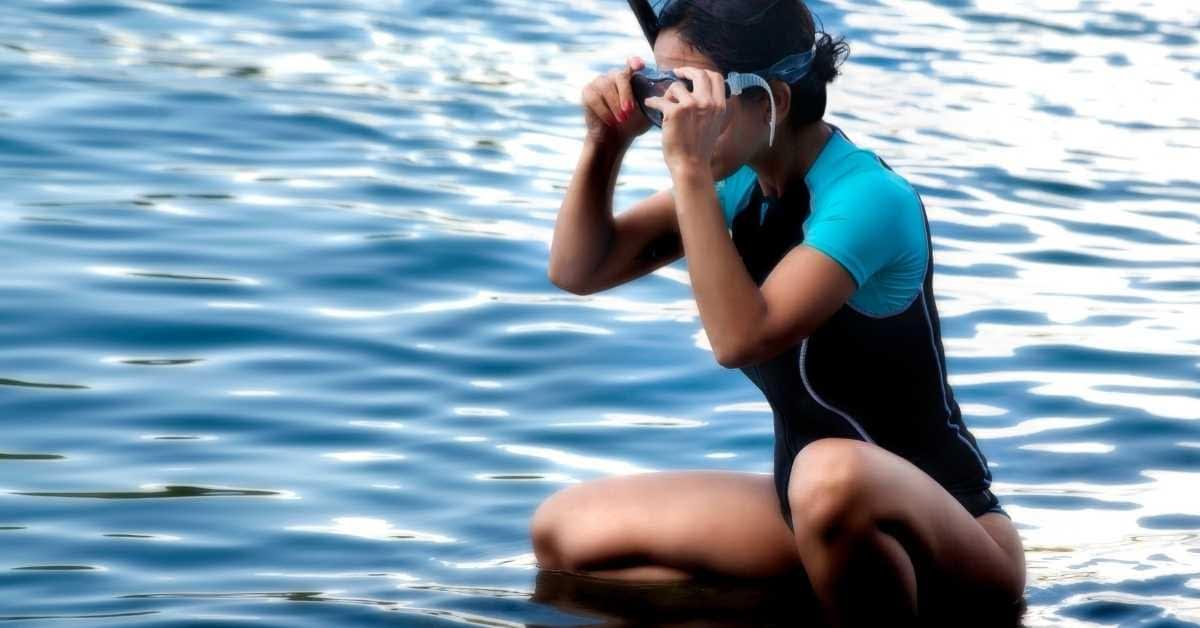 Women's Short scuba wetsuit
